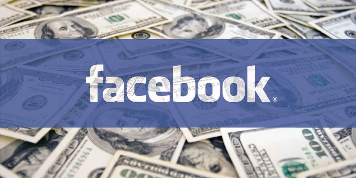Facebook podría permitir dar propina para que los usuarios ganen dinero