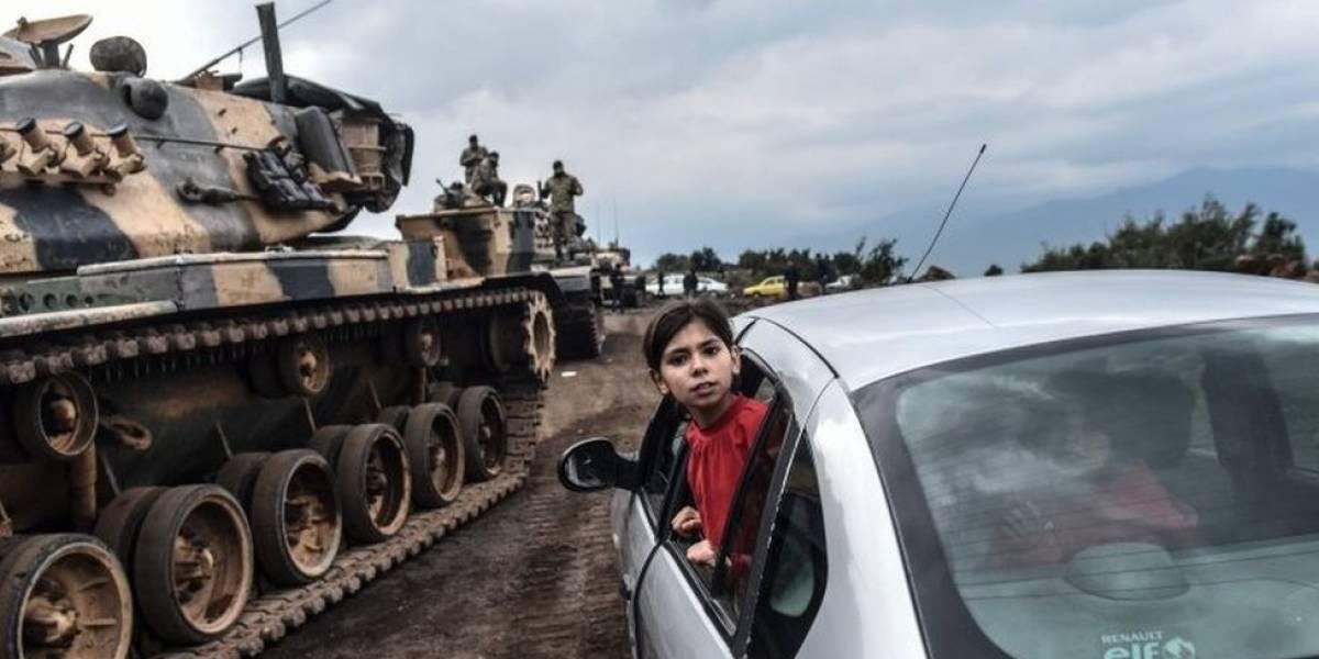 Al menos 18 civiles mueren en campaña militar turca en Afrin, Siria