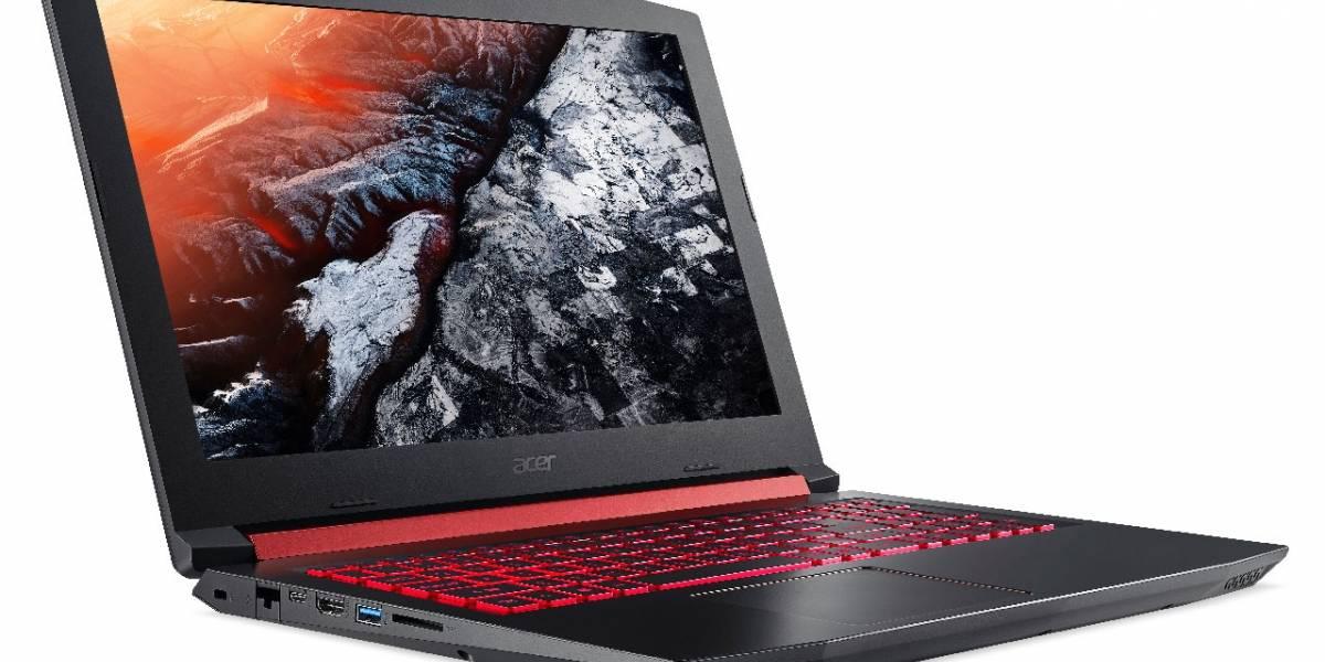 Acer Nitro 5 es una laptop para gamers casuales (y no tanto)