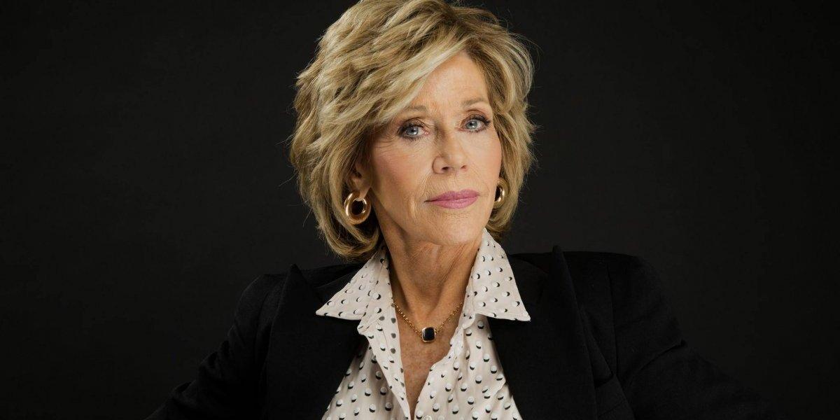 El día que Jane Fonda tuvo que dormir con su vestido de gala puesto