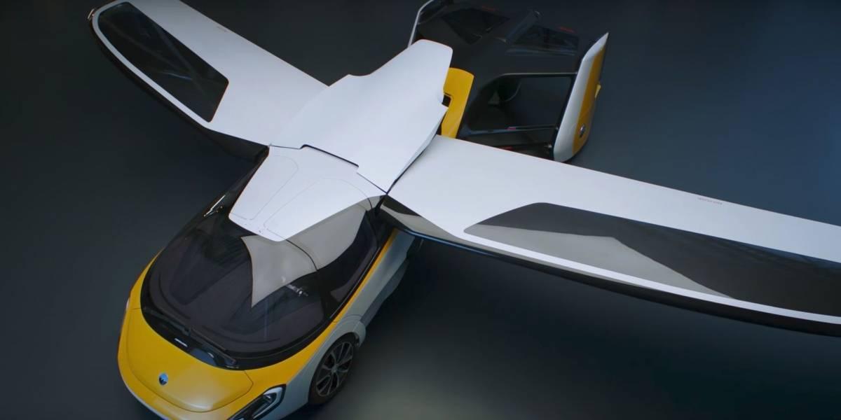 El auto volador AeroMobil llegará en 2020 y no será barato