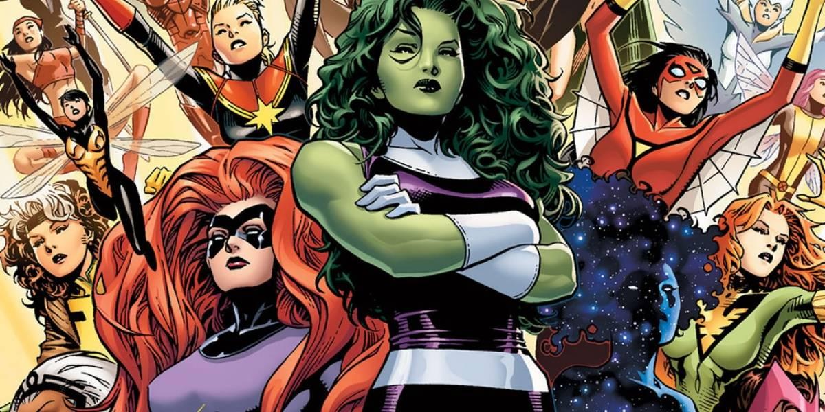 Marvel anuncia un grupo de Avengers compuesto sólo por mujeres