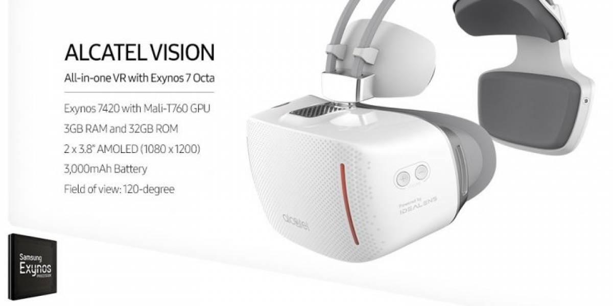 Alcatel entra al mundo de la realidad virtual con Vision VR