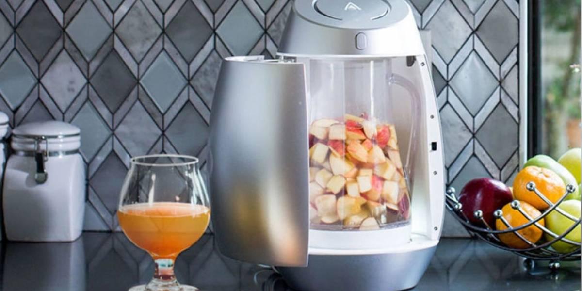 Genios crean máquina que convierte cualquier fruta en alcohol