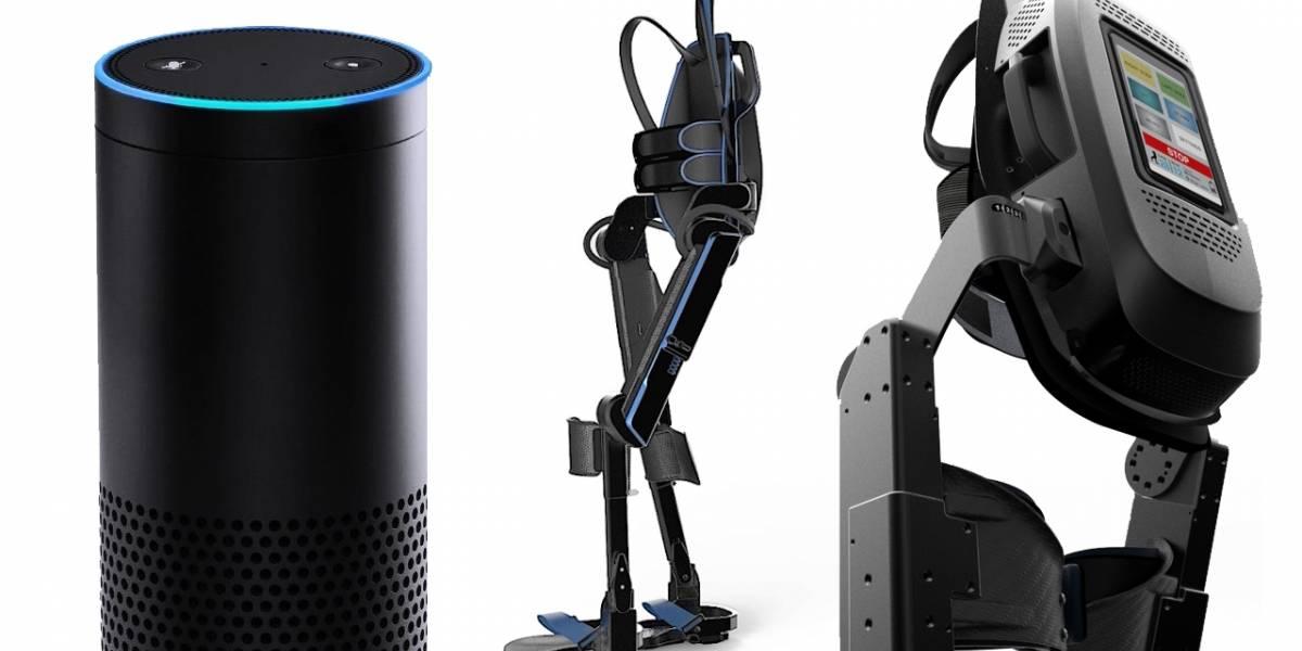 Alexa de Amazon ya controla exoesqueletos con comandos de voz