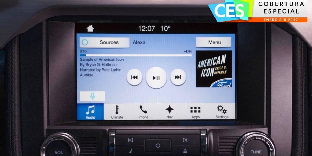 Ford será la primera automotriz en integrar Alexa de Amazon #CES2017