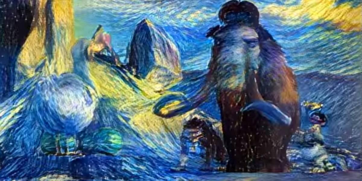 Algoritmo convierte cualquier video en una pintura animada por Van Gogh