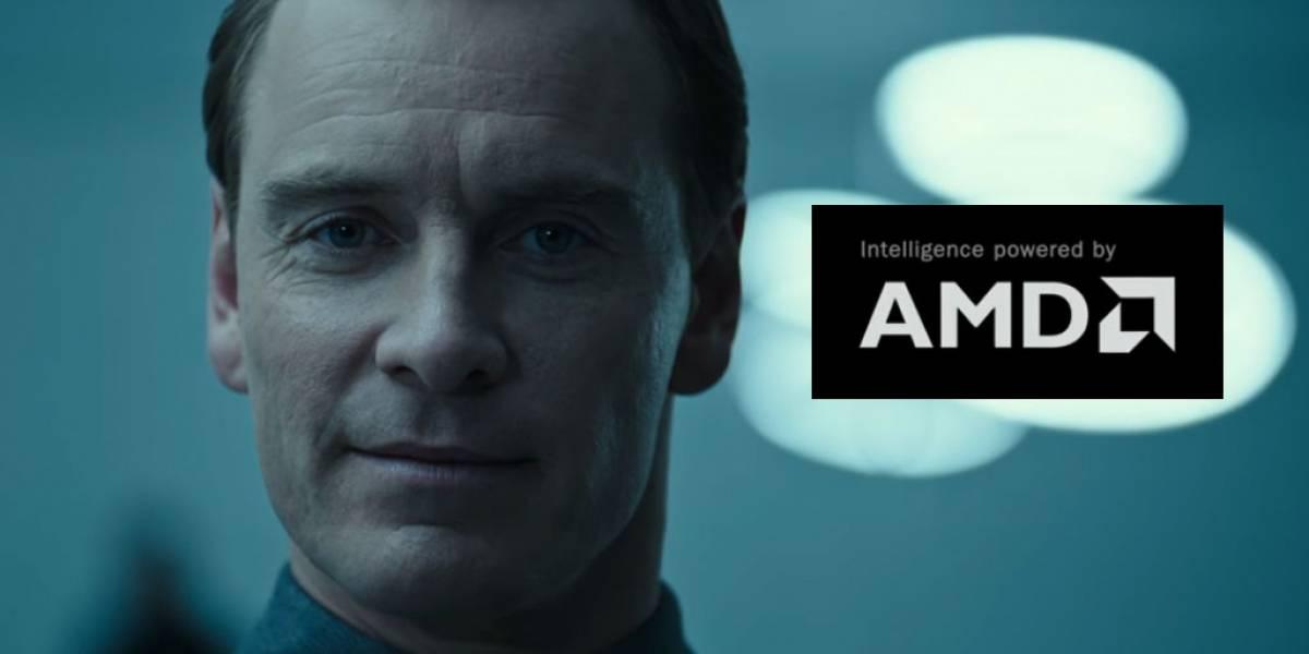 El robot Walter de Alien: Covenant ahora anuncia procesadores AMD
