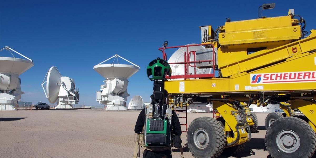 Ahora puedes recorrer el radiotelescopio ALMA en Google Street View