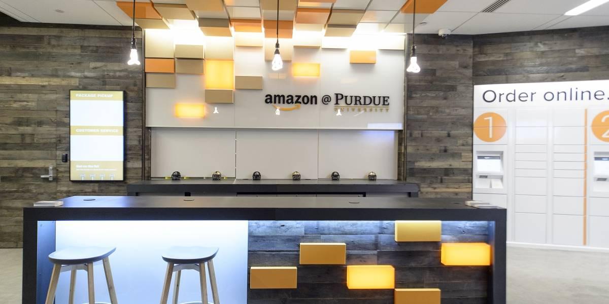 Amazon abre su primer local universitario