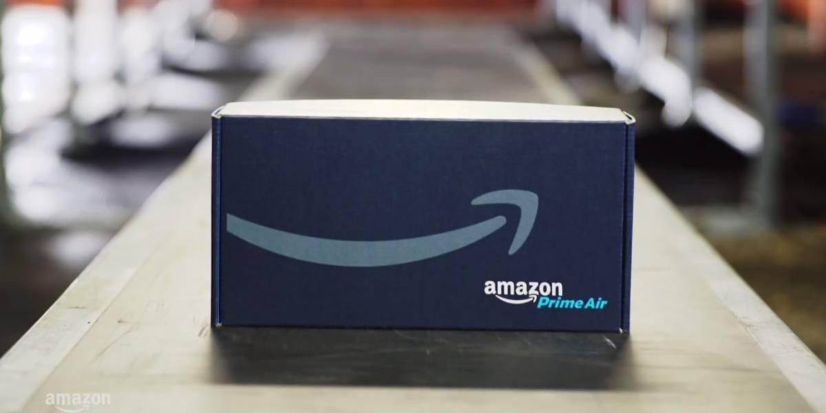 Amazon lanza servicio de entrega por drones en Reino Unido