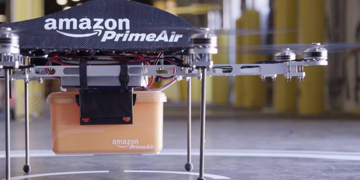 Amazon registra la patente para una colmena de drones