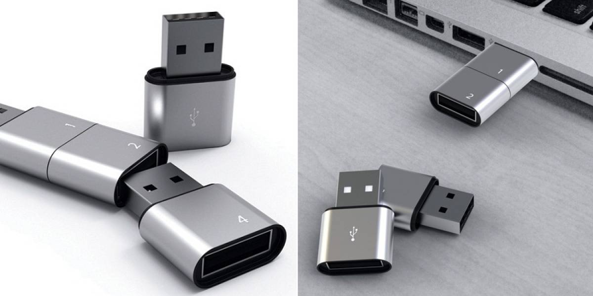 """Una memoria USB modular para prestar tus documentos y no tus """"fotos prohibidas"""""""