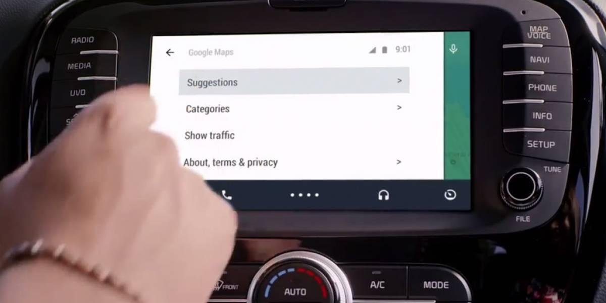 Google presenta Android Auto, la mejor experiencia al volante #IO14