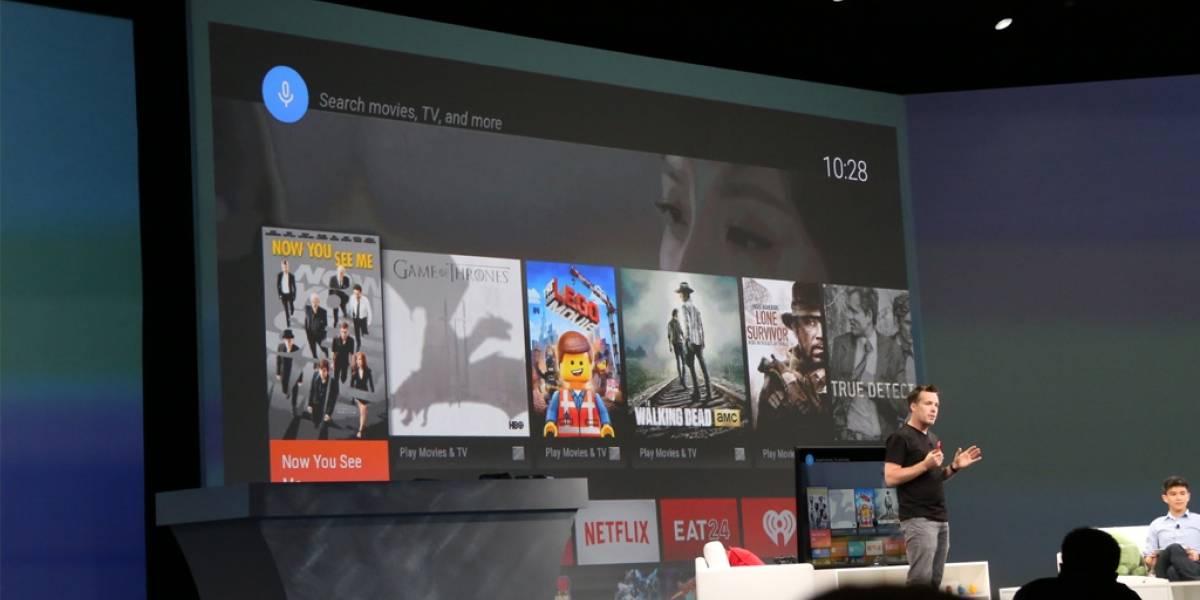 Google anuncia Android TV en #IO14
