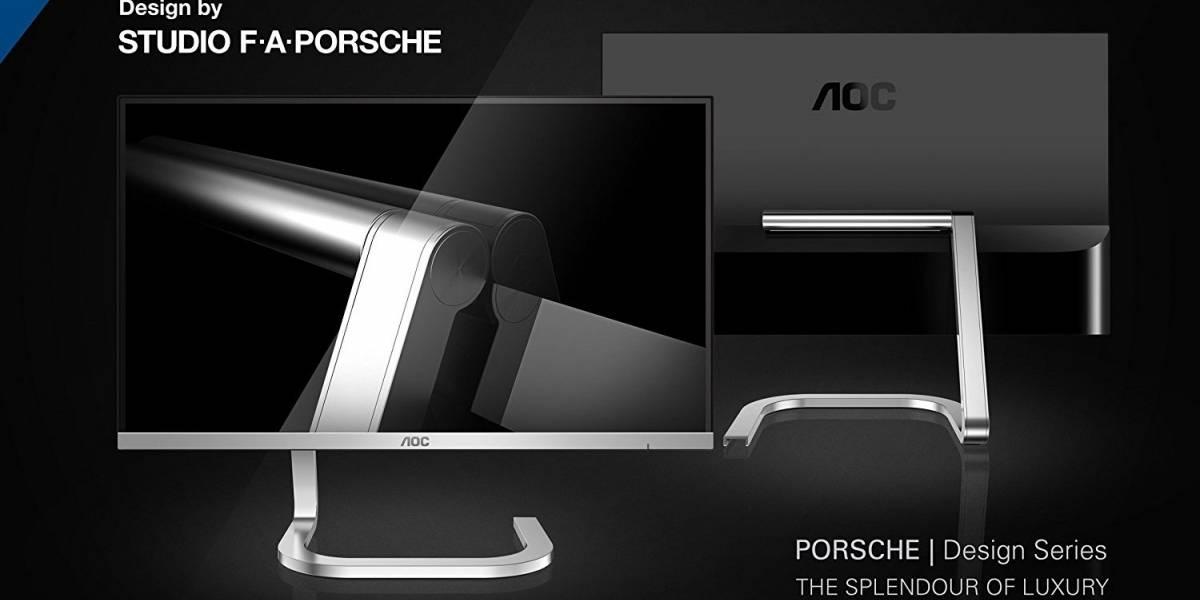 AOC y Porsche han resuelto el problema de los cables del monitor