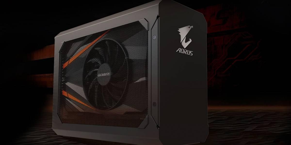 Gigabyte lanza una GeForce GTX 1070 que se conecta a tu laptop