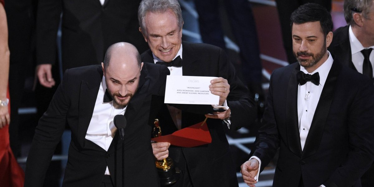 Nuevas reglas para manejo de sobres del Oscar