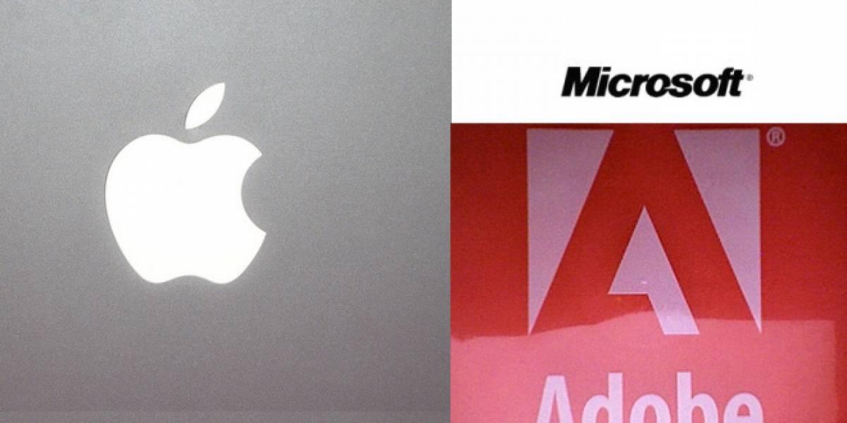 ¿Cuáles son las empresas tecnológicas que apoyan la ley SOPA?
