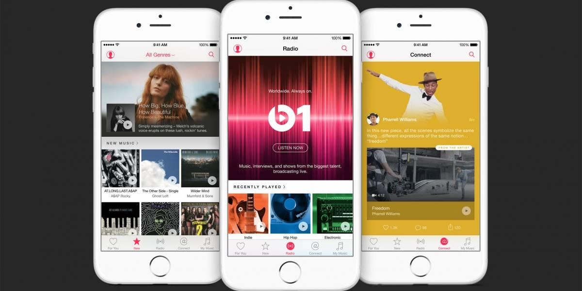 Apple pagará 2 centavos de dólar por canción en la fase de prueba de Apple Music