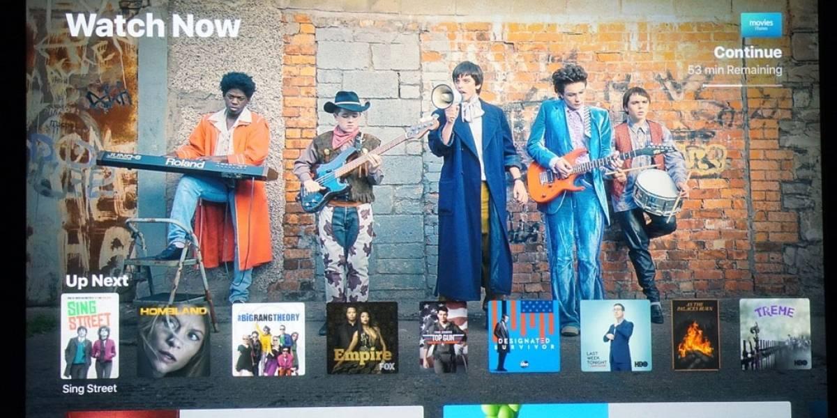 Se reinventa Apple TV con una app que casi imita a Netflix