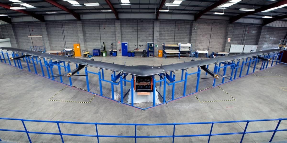 Aquila, el dron de Facebook para repartir internet gratuito está listo para volar