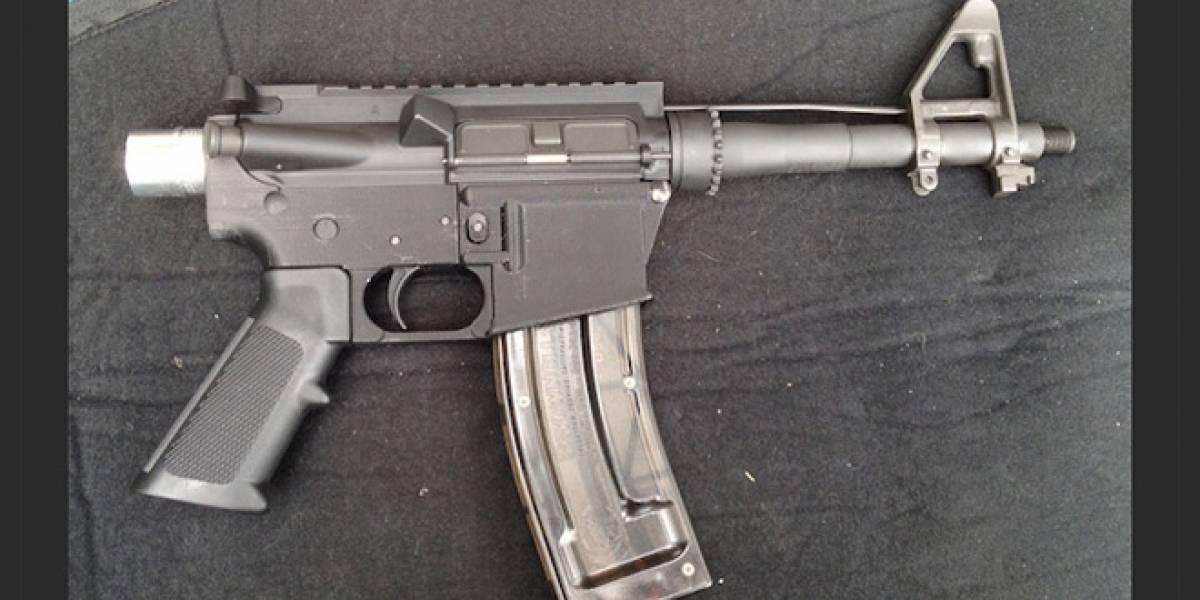 Proyecto open source pretende que cualquiera pueda imprimir un arma funcional en 3D