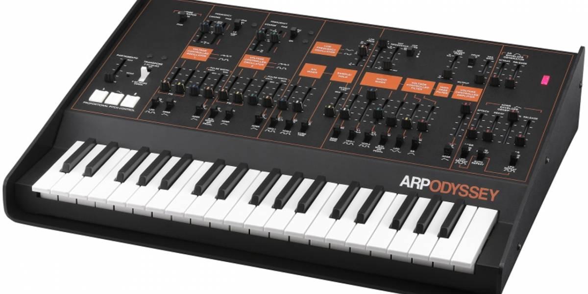 KORG revive al ARP Odyssey, un clásico sintetizador analógico del año 1978