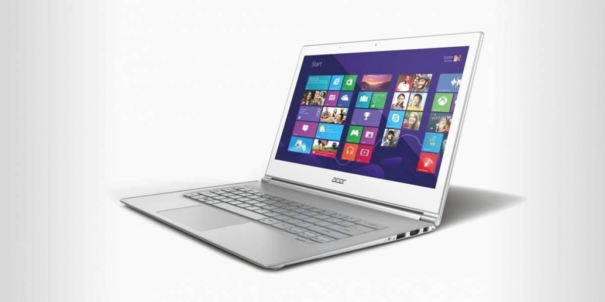 Acer renueva sus Aspire S3 y S7 con mejores pantallas y nuevos procesadores