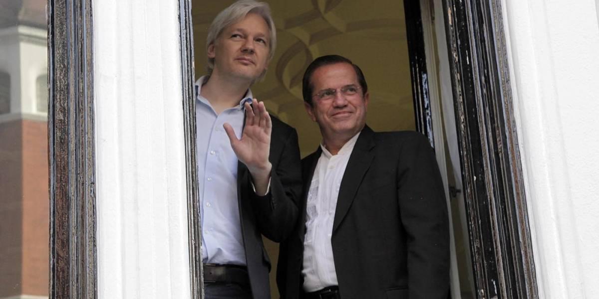 Julian Assange cumple cinco años de encierro en la embajada de Ecuador