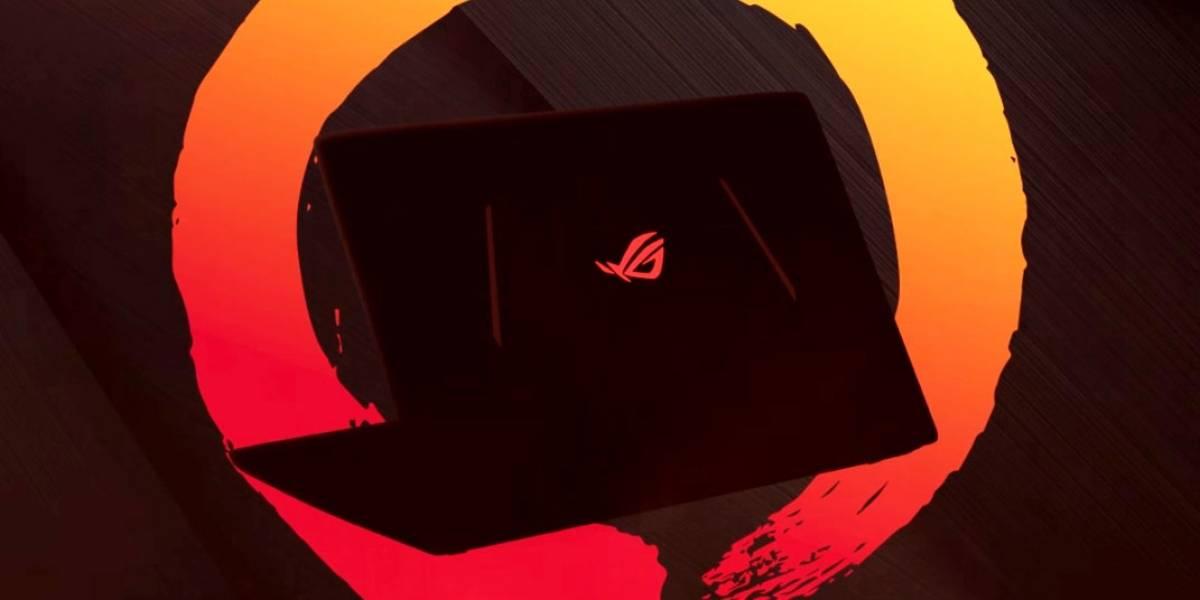 ASUS lanzará un potente notebook gamer con Ryzen