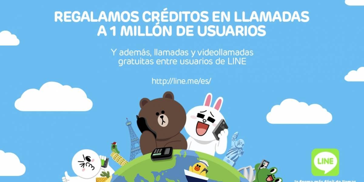 Line Call llega a España y regala 100 créditos en llamadas
