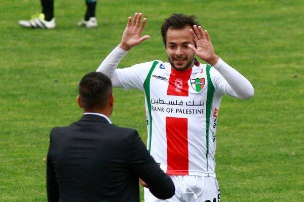Palestino fue el último club de Vidangossy antes de su 2017 de inactividad / Foto: Agencia UNO