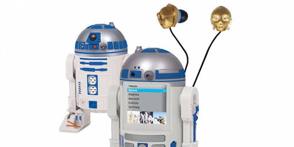 Reproductor multimedia con forma de R2-D2