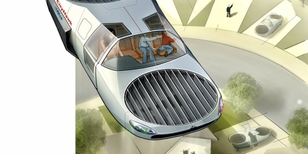 Podríamos tener un auto volador en 2022