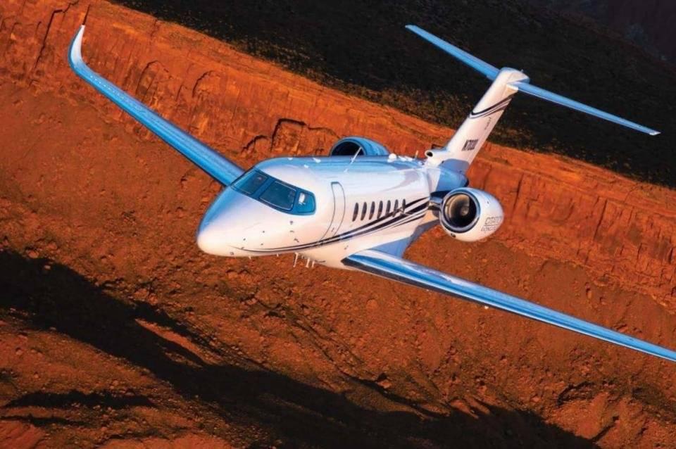 3º - Zlatan Ibrahimovic tem um Cessna Citation Longitude avaliado em 23,8 milhões euros Divulgação