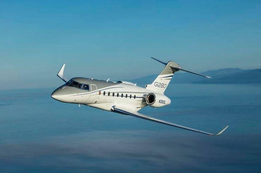 5º - Paul Pogba tem um Gulfstream G280 avaliado em 20,4 milhões euros Divulgação
