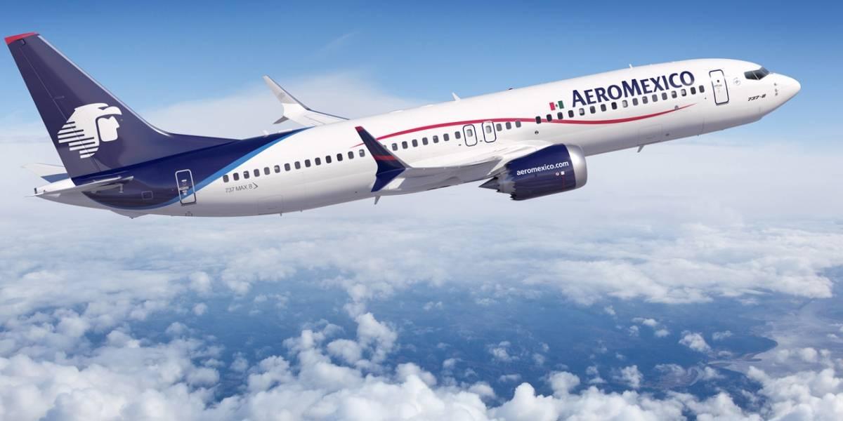 Buenas noticias, viajeros: Aeroméxico ya te dejará usar WhatsApp y Messenger gratis en algunos vuelos