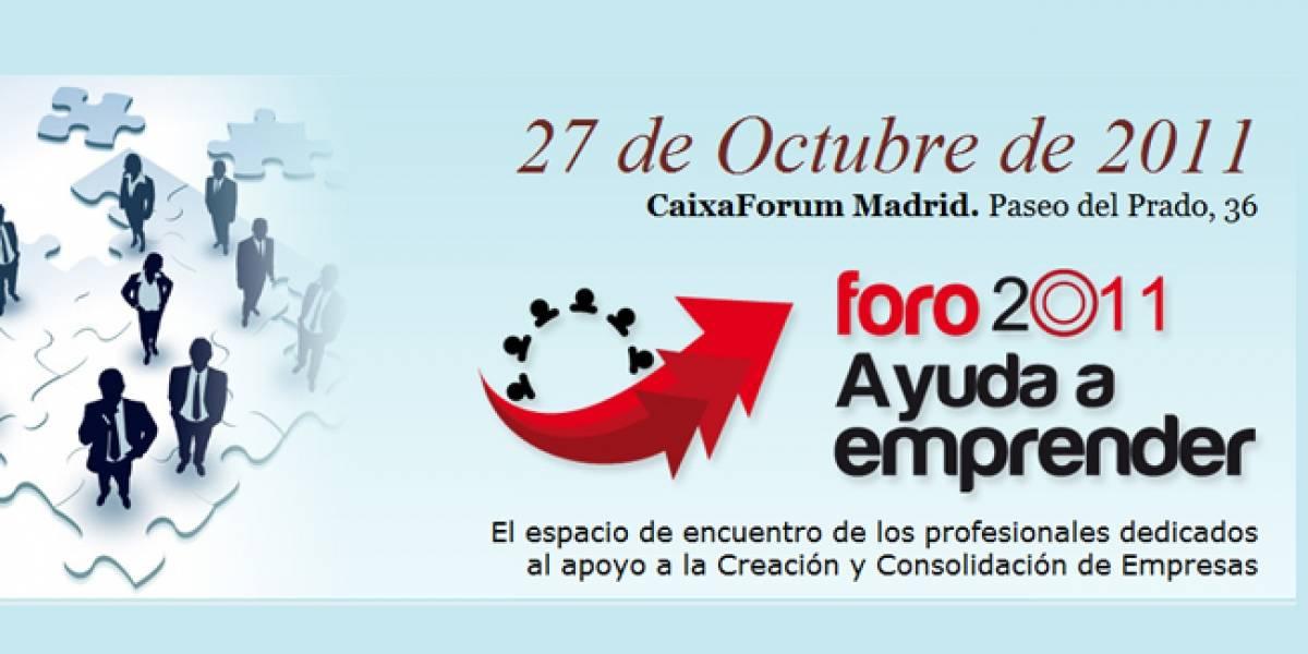 El I Foro 'Ayuda a Emprender' se realiza mañana en Madrid
