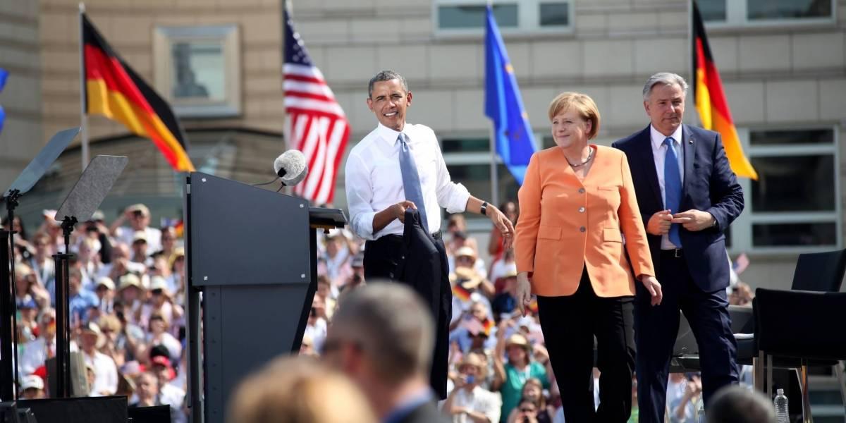 Merkel cede ante Estados Unidos y la NSA debido a la crisis en Ucrania