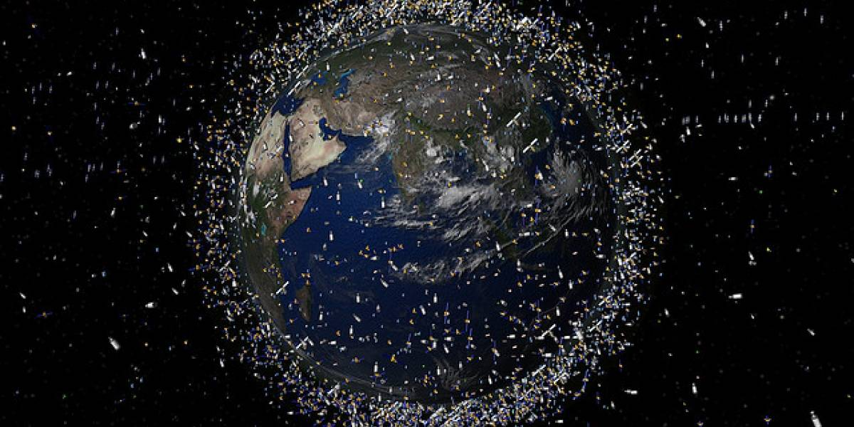 Fracasó la misión que buscaba limpiar la basura espacial