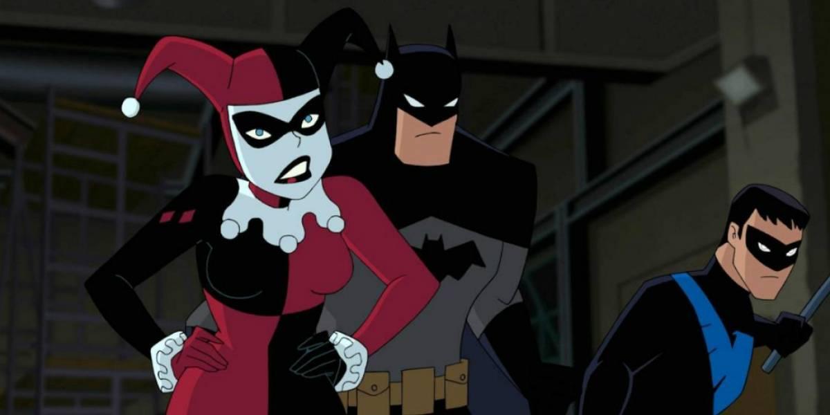 Primer vistazo a la película animada de Batman y Harley Quinn