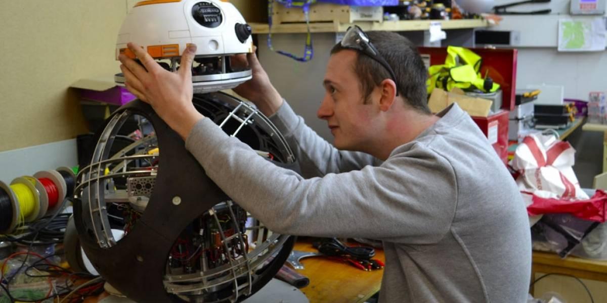 Ingenieros muestran cómo crearon a BB-8 para El Despertar de la Fuerza