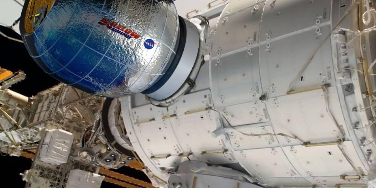 SpaceX entrega la primera habitación inflable para astronautas
