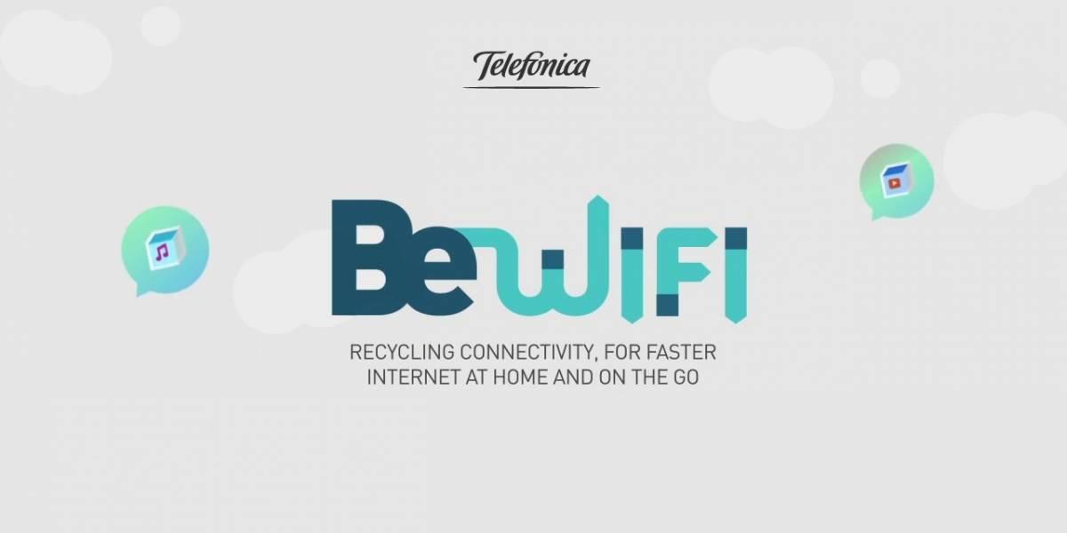 Movistar BeWiFi permite aumentar tu velocidad de otros usuarios