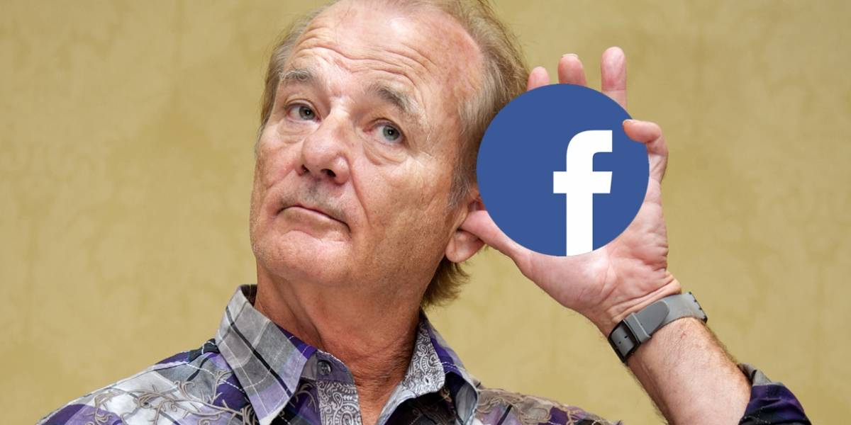 Facebook Watch presenta su nueva serie con Bill Murray como protagonista