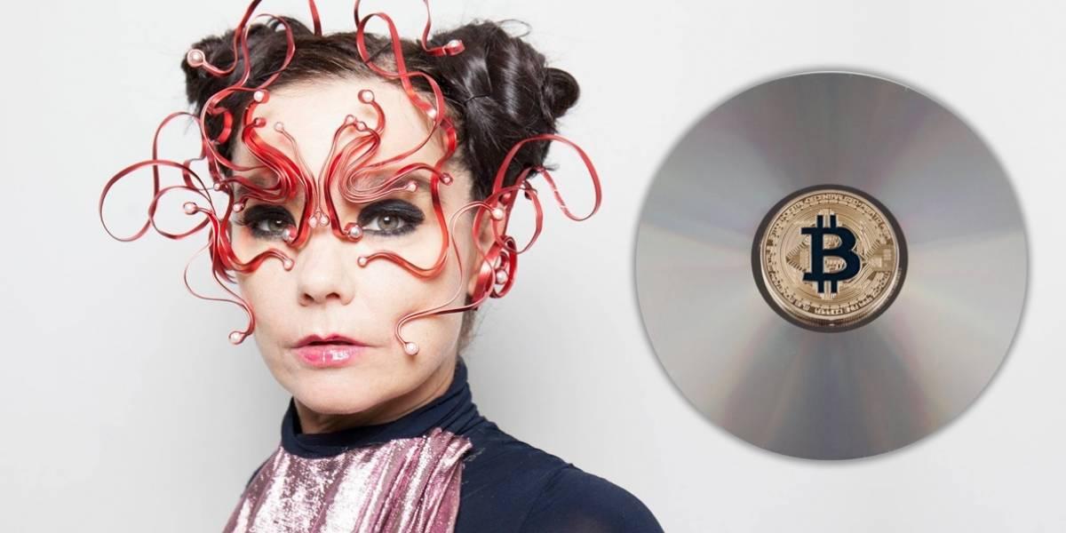 Björk regalará criptomonedas a quien consuma su música