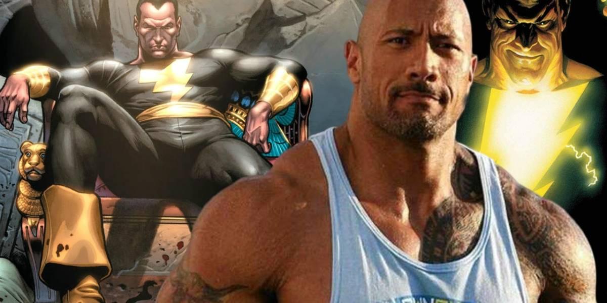 Dwayne Johnson protagonizará película en solitario de Black Adam