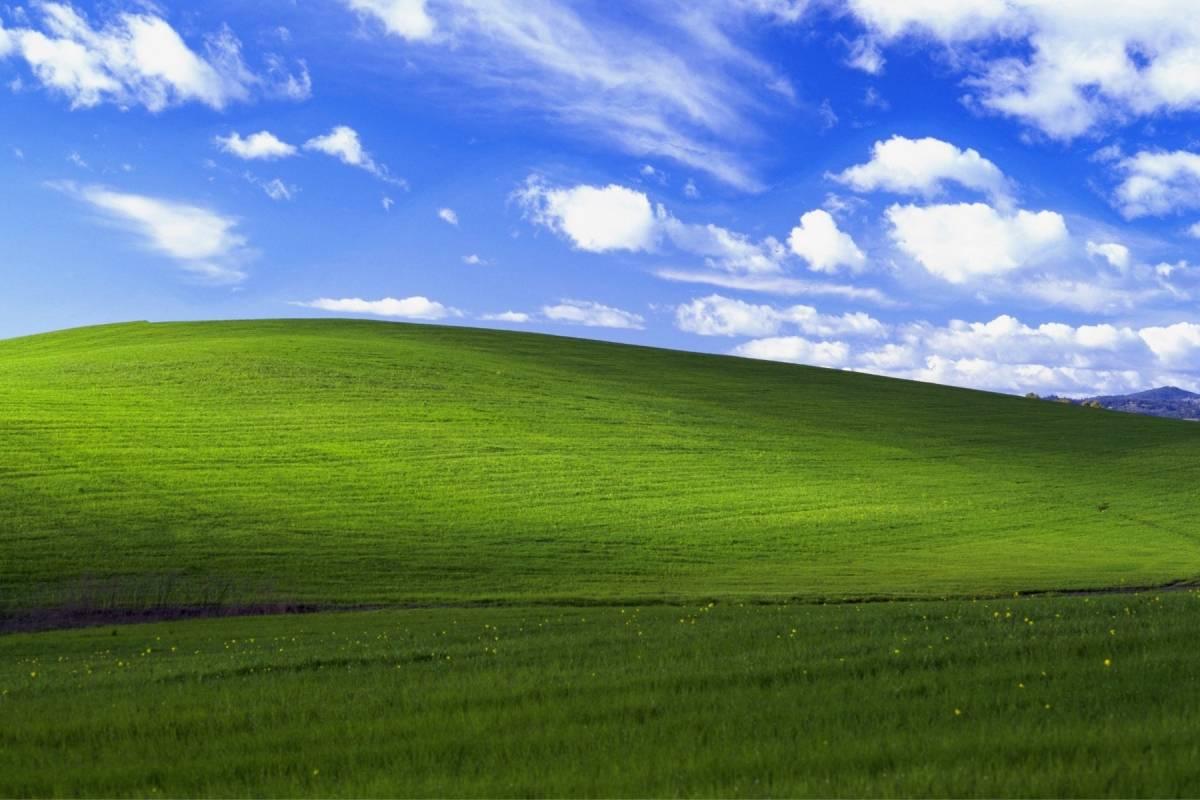 La historia de Bliss, el icónico fondo de pantalla de Windows XP