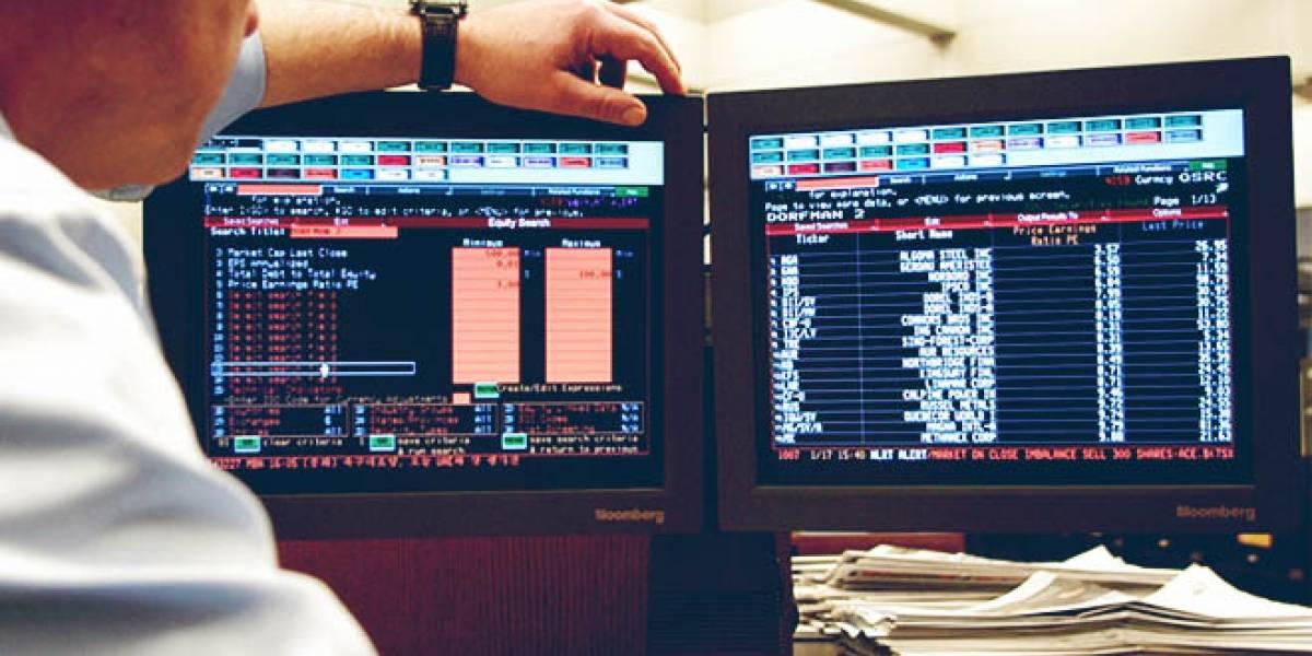 """Bloomberg controla el mundo bursátil con su """"terminal"""""""
